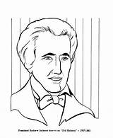 Andrew Jackson Coloring Pages Presidents President Printable Sheet History Sheets States United Usa Easy Printables Patriotic Presidential Fun American Congress sketch template