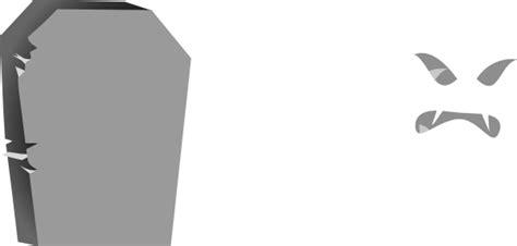 Halloween Tombstone No Face Clip Art At Clker.com