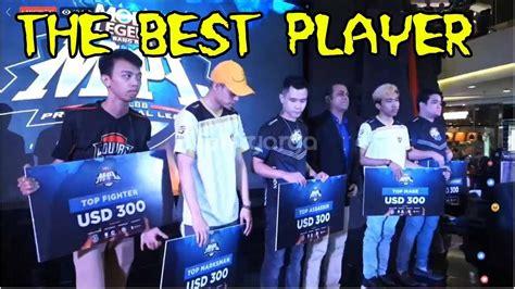 Inilah Pemenang Top Tank, Mage, Assasin, Mm, Fighter, Kda