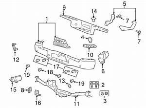 2004 F150 Body Parts Diagram : bumper components rear for 2004 ford f 150 fordoemparts ~ A.2002-acura-tl-radio.info Haus und Dekorationen