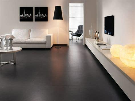 kitchen black stainless steel black tile flooring modern living room