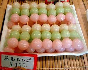 File:Hanami dango by gochie- in Seiryu-cho, Kyoto.jpg ...