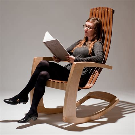 j rusten furniture studio the modern rocking chair