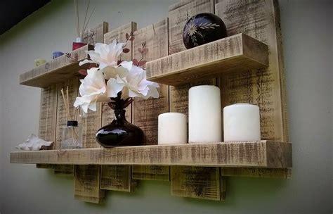 floating shelf display wall storage unit shelves wood