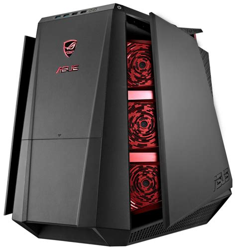 led exterior lighting asus unveils the rog tytan cg8890 gaming desktop pc