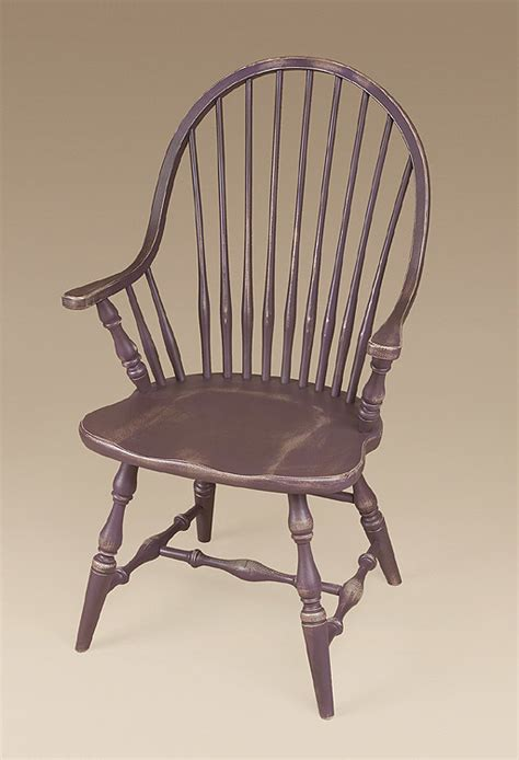 england continuous arm windsor chair