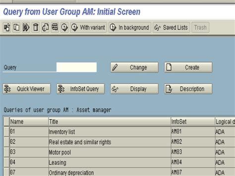 abap query tutorial  sap sq sq sq