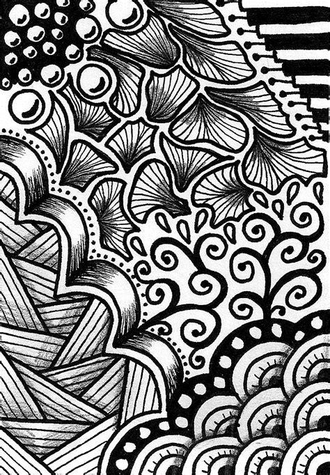 creative crafting   zen doodle