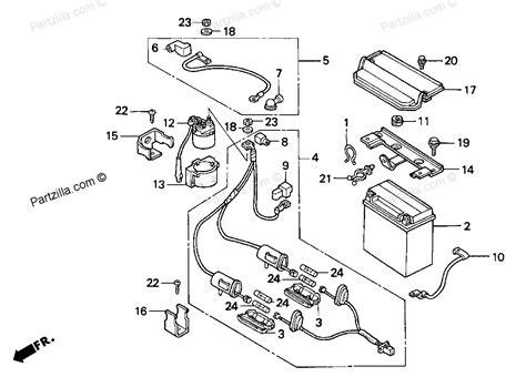 1998 honda fourtrax wiring diagrams honda crx wiring