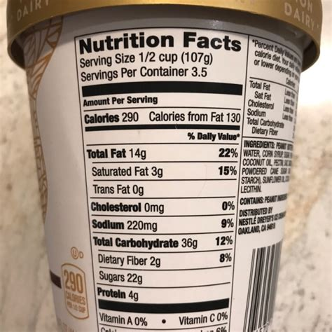 Only extraordinary ingredients for the ultimate flavour. 32 Haagen Dazs Nutrition Label - Labels Design Ideas 2020