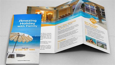 resort brochure template ai psd apple pages
