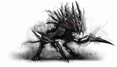 Shadow War Monster Creatures Transparent Overworld Darkness