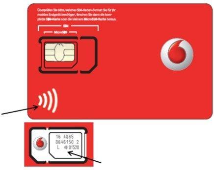 Vodafone Neue Sim Karte Gleiche Nummer