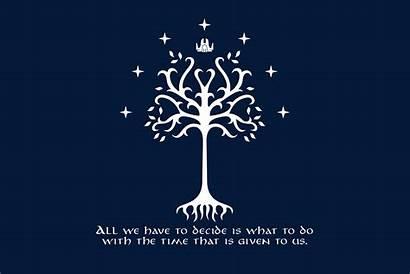 Lord Rings Tree Gandalf Gondor Fellowship Moria