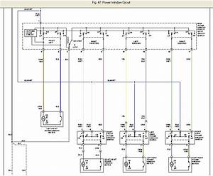 I Need A Wiring Diagram For A 2001 Nissan Sentra Driver Side Door  Went To Replace A Window And