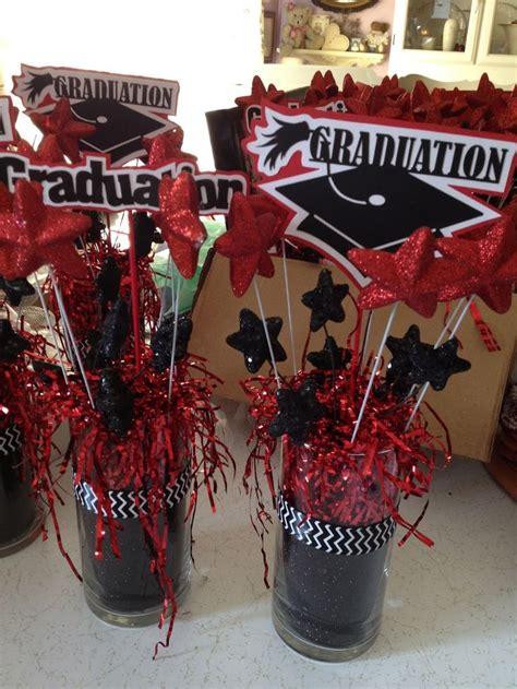 graduation table decoration ideas best 25 graduation centerpieces ideas on