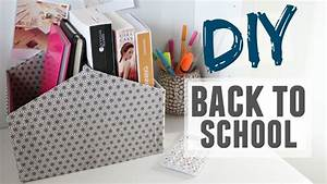 Diy Rangement Chambre : diy rangement bureau avec une bo te chaussures youtube ~ Preciouscoupons.com Idées de Décoration