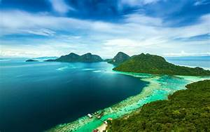 Bohey, Dulang, Island, Malaysia, Tropical, Sea, Coast