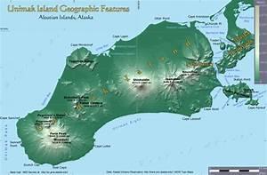 Land Forms Of The Unimak Area  Alaska