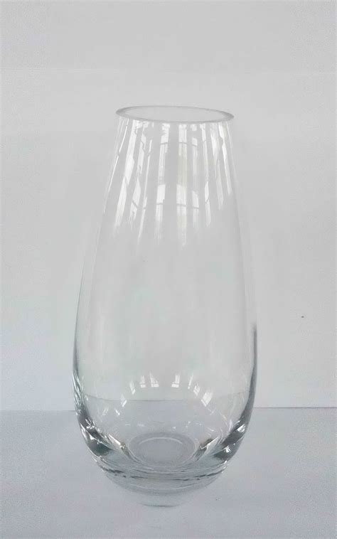 Large Glass Vase by Large Floral Glass Vase Clear