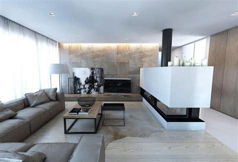 canapé d angle blanc et gris parement mural salon et peinture artistique en 80 idées déco