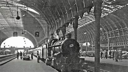 Rail Station Paddington Railway London Record Gwr