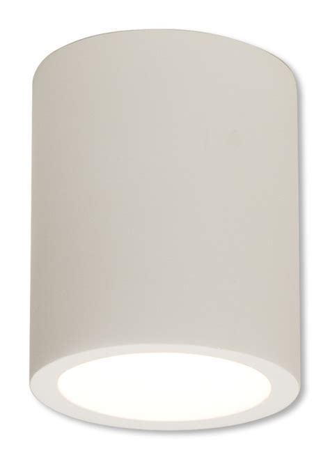 White Plaster 13W GU10 Surface Downlight