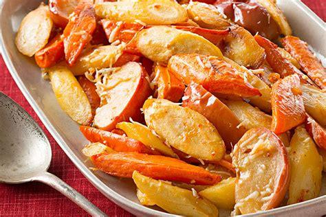 Ovenroasted Root Vegetables & Apples  Kraft Recipes