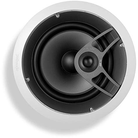 polk ceiling speakers mc80 polk audio mc80 high performance in ceiling speaker