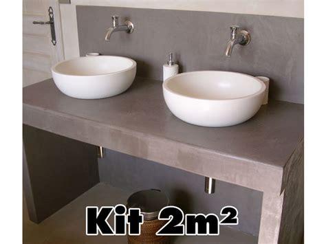 beton pour plan de travail cuisine béton ciré anti taches pour plan de travail surfaces extérieures sol de cuisine ou de salle de
