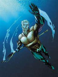 Underwater Aquaman Comic