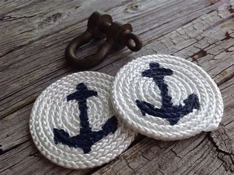 Anchor Rope Coasters