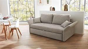 Sofa 160 Cm : funktionssofa luca sofa in grau mit bettfunktion 160 cm ~ Buech-reservation.com Haus und Dekorationen