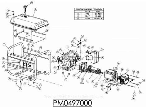 Coleman Powermate Generator Wiring Diagram by Coleman 5000 Watt Generator Wiring Diagram Wiring