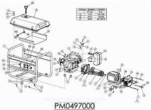 35 Coleman Powermate 5000 Parts Diagram