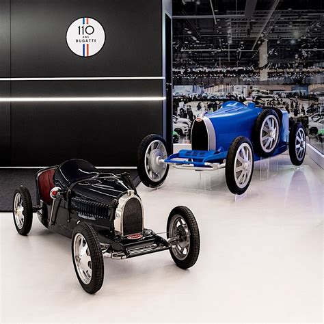 The base will start at $36,600, and will arrive in french racing blue with a black leather interior. Bugatti Baby II, a Replica of the Type 35, Is a EUR 30,000 Car for Kids and Dads - autoevolution