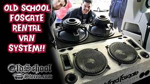 Old School Rockford Fosgate Rental Van System