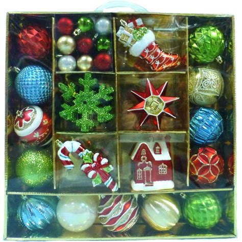 martha stewart living alpine holiday ornament 51 count c