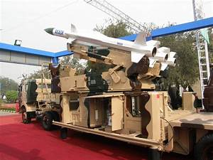 Akash SAM medium-range surface-to-air missile technical ...