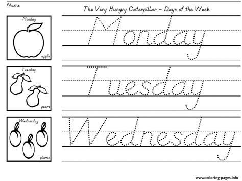 writing worksheets for kids activity coloring pages printable