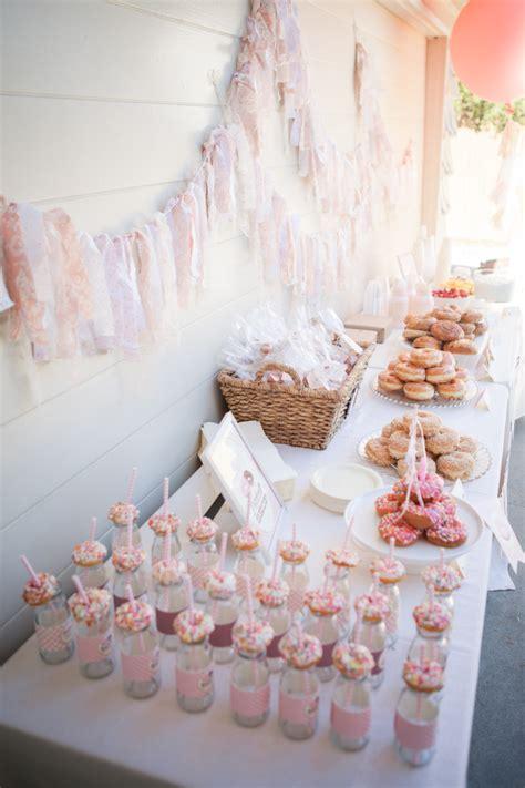 blairs donut  birthday party project nursery