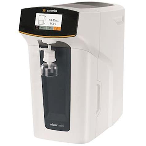 master water conditioning corp uv l sartorius arium mini water purification system with uv