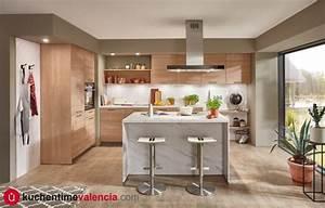 Cocinas, Con, Isla, Configuraciones, Muebles, De, Cocina, Con