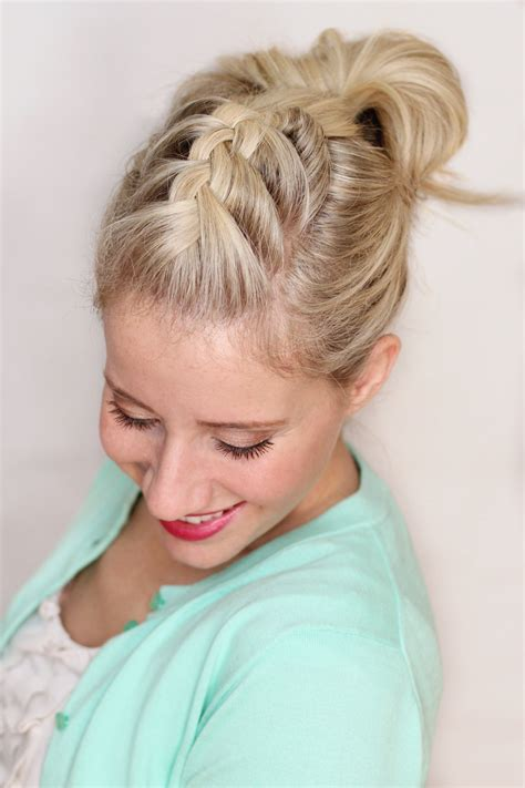 braided pompadour twist me pretty