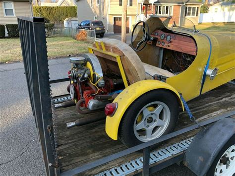 You will have nothing less then incredible fun in this amazing car.replica of a late 1927 bugatti speedster.leather interior with red piping. Kit Car 1927 Bugatti 35B Replica Volkswagen Chassis - Classic Bugatti Other 1969 for sale