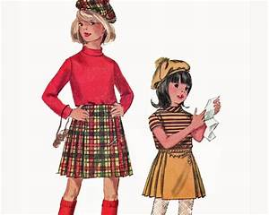 Girls Irish Scottish Kilt Pattern Pleated Kilted Skirt ...