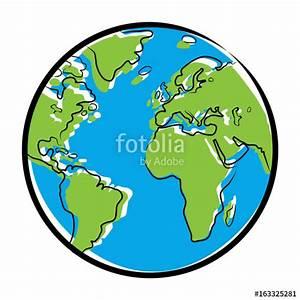 Globe Terrestre Carton : farbige zeichnung globus vektor freigestellt stockfotos und lizenzfreie vektoren auf ~ Teatrodelosmanantiales.com Idées de Décoration
