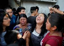 Families sepaated at border