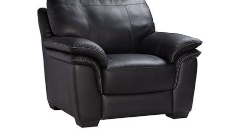 Grand Palazzo Black Leather Chair