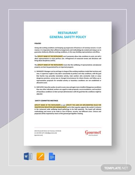 appointment letter  general manager template